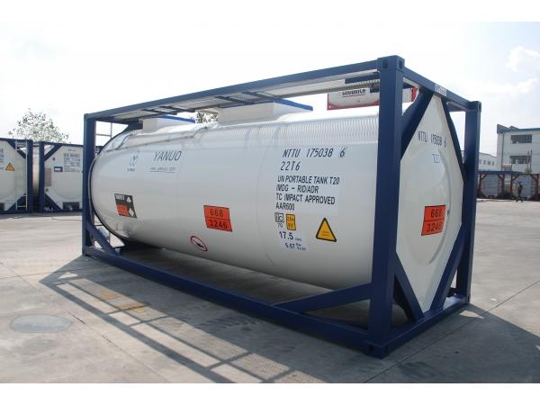 Танк-контейнер 25м3 тип Т14, для перевозки серной, азотной кислоты