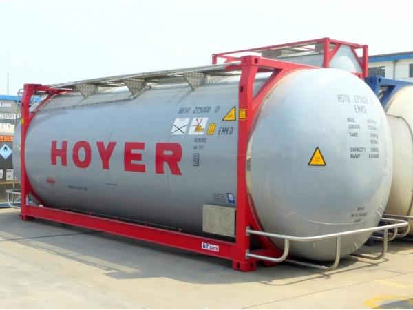 Танк-контейнер модель Т11 SWAP объём 35000 литров