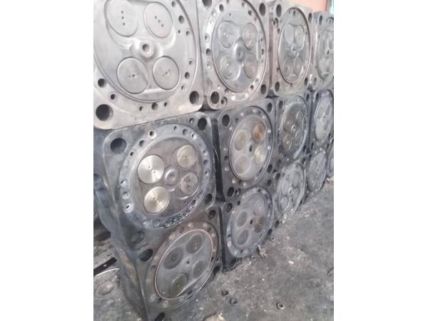 Крышка цилиндра 5Д49.78спч (в сборе) после ремонта