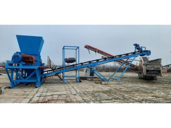 Продается Агрегат измельчения в составе шредера ДШ-06х50! В НАЛИЧИИ