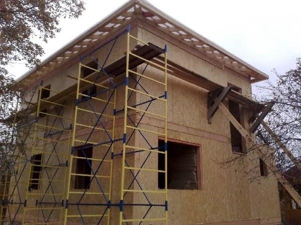 Строительство домов коттеджей из сип панелей ОСП и ЦСП под ключ