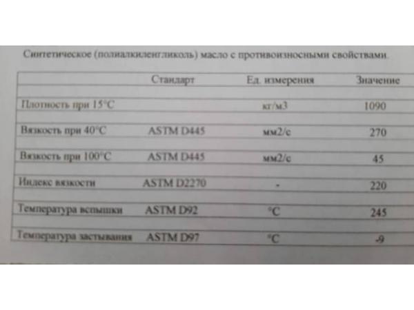 Синтетическое масло компрессорное TOTAL . 50 тонн в месяц .