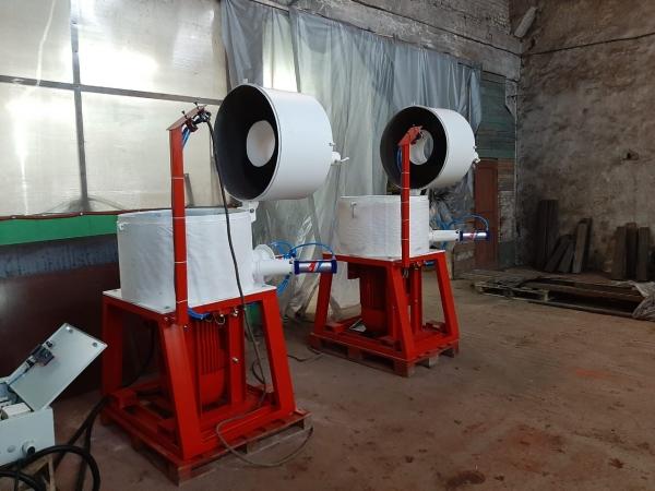 Агломератор (ПОЛУАВТОМАТ) 55 кВт, 150-250 кг/ч.