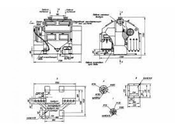 2ЭВС-36/100 сепаратор электромагнитный валковый