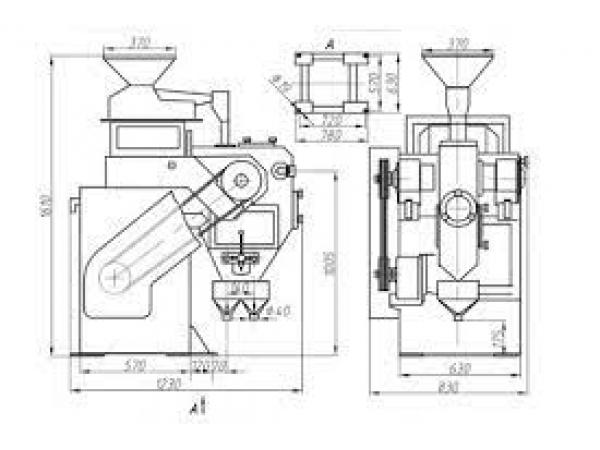 ЭВС-В-28/9 сепаратор электромагнитный валковый