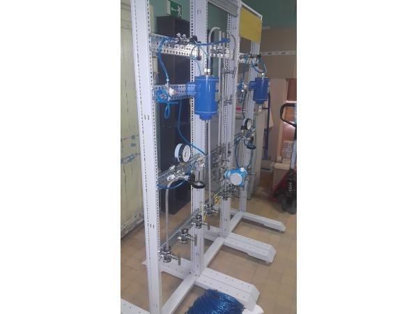 Стенд Газоанализаторов-(Автоматика для электролизеров и электрохимичес