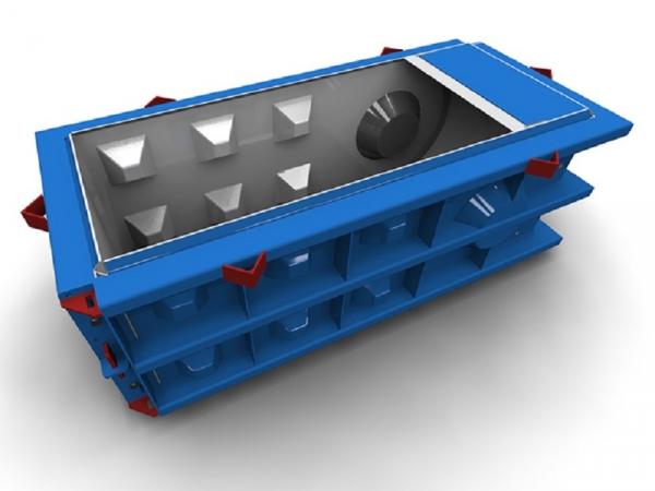 Металлоформы лего блока радиусные