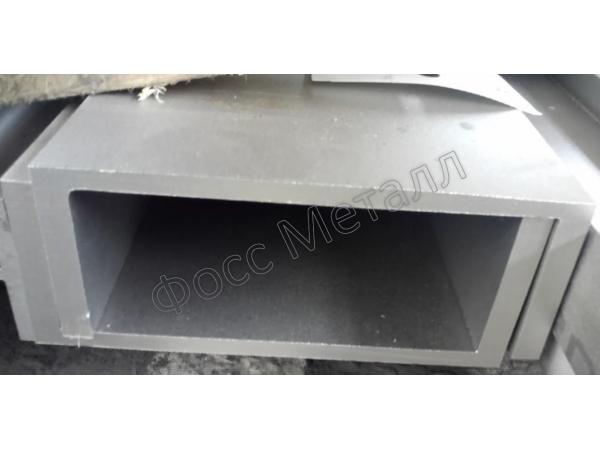 Швеллер нержавеющий 160х80х8 сварка лазером сталь AISI 304