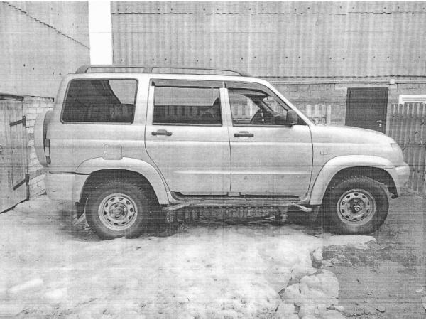 ПИ107154 Транспортное средство UAZ PATRIOT