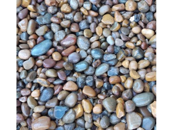 Галька моская натуральный камень для ландшафтного дизайна