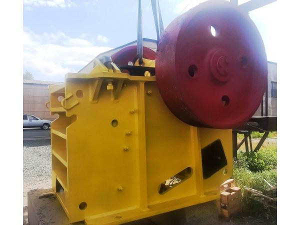 Щековая дробилка СМД-110А износостойкое оборудование по низкой цене