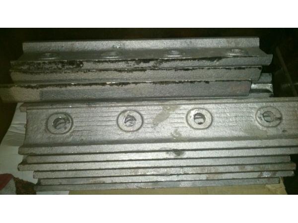 Накладка трамвайная Т62 ГОСТ977-88 по 6400 р/комплект