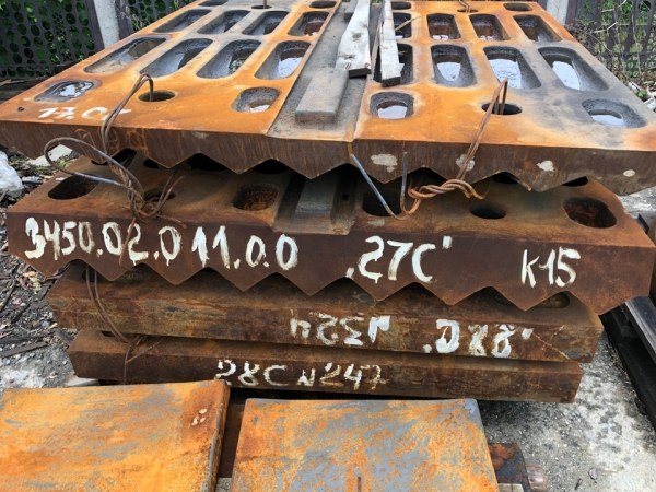 Плита распорная передняя №3442.00.002