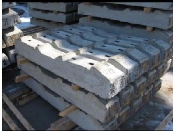 Шпала железобетонная Ш3-Д по 2300 руб
