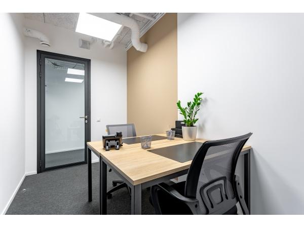 Смарт-офис, 11,4 м²  на 2 сотрудника.