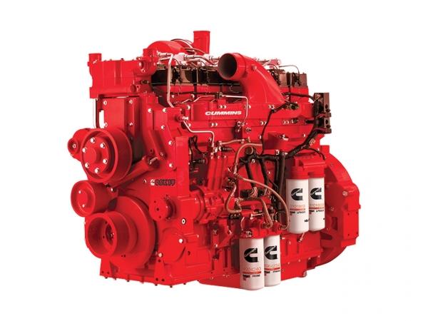 Дизельный двигатель Cummins QSK 19