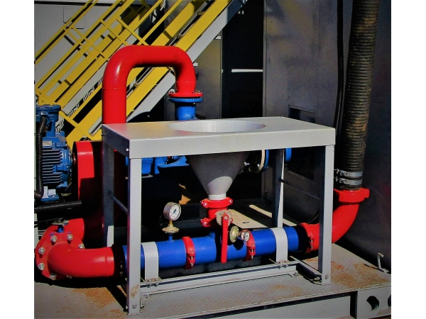 Гидросмесительная воронка для бурового раствора