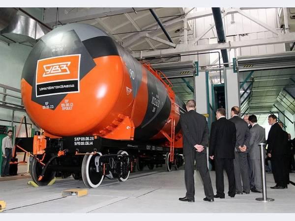 Спрос на продукцию вагоностроения УВЗ стремительно растет