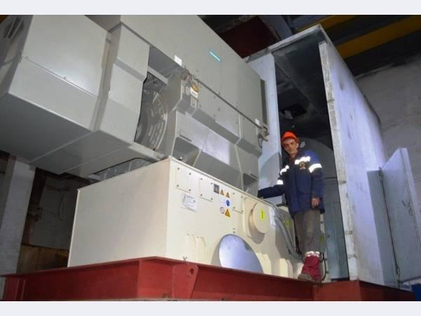 Электроцинк осуществил рабочий пуск нового нагнетателя газа
