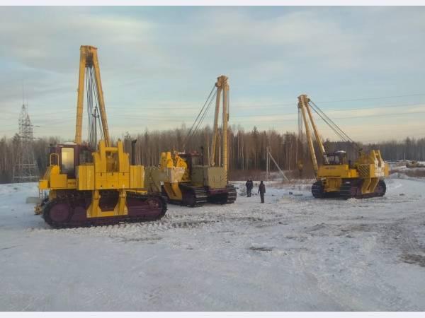 Трубоукладчики ЧЕТРА будут работать на магистральных газопроводах Газпрома