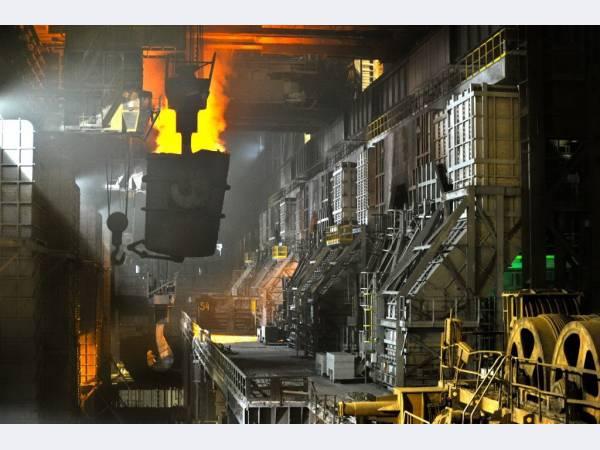 ЧерМК обновил мощности конвертера №2 в сталеплавильном производстве