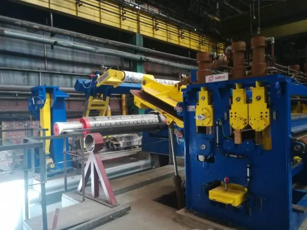 Северсталь приступила к монтажу нового агрегата продольной резки в рамках освоения широкого проката