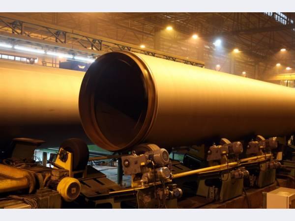 Ижорский трубный завод поставит Газпрому 320 тыс. т труб