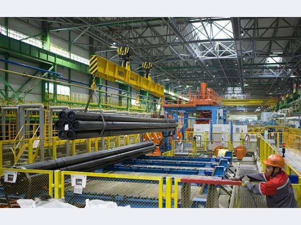 ОМК ввела в строй новый трубный цех на Выксунском МЗ