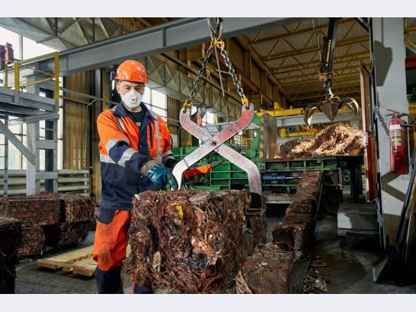 Уралэлектромедь увеличила переработку ломов на 4,5 %