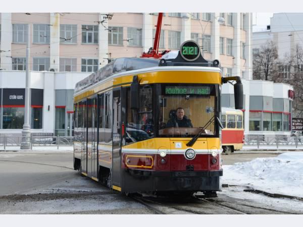 Ростех готов начать серийное производство ретротрамвая на «Уралтрансмаше»