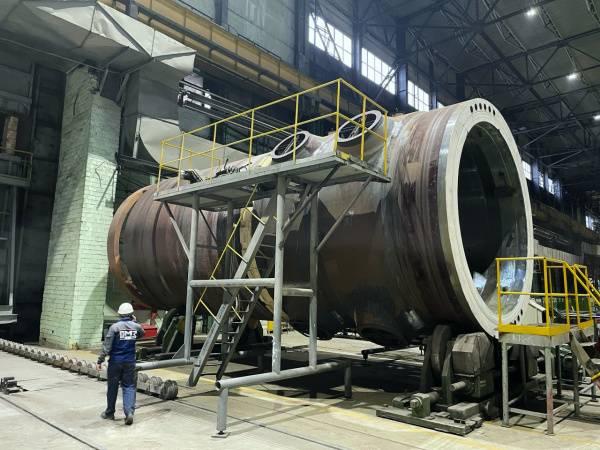 Ижорские заводы выполнили сборку и сварку корпуса реактора для АЭС Аккую