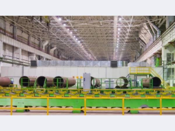 ЧТПЗ внедрил газоочистное оборудование со степенью очистки 99,9%