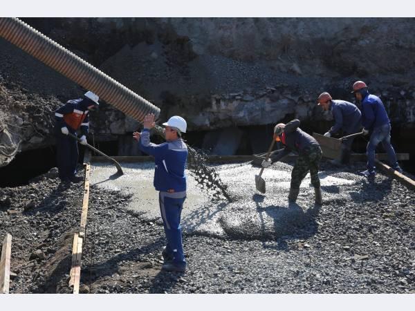 На ММСК началось строительство склада для шихтовых материалов