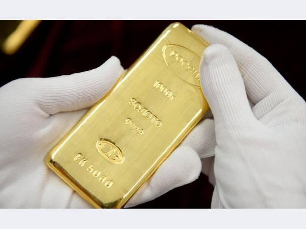 По итогам 1 квартала выпуск золота в России сократился, но прогноз пока оптимистичный