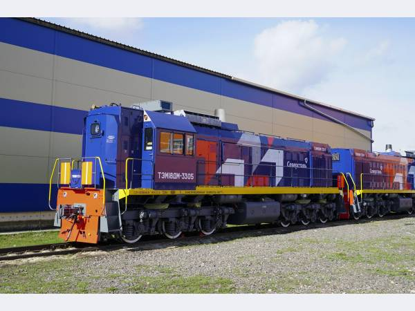 Маневровые тепловозы ТМХ пополнили локомотивный парк Северстали