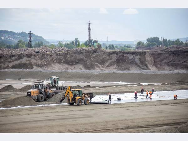 ЕВРАЗ ЗСМК строит современный полигон твердых промышленных отходов