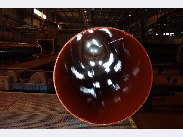 Северсталь впервые поставила трубы большого диаметра в Грецию