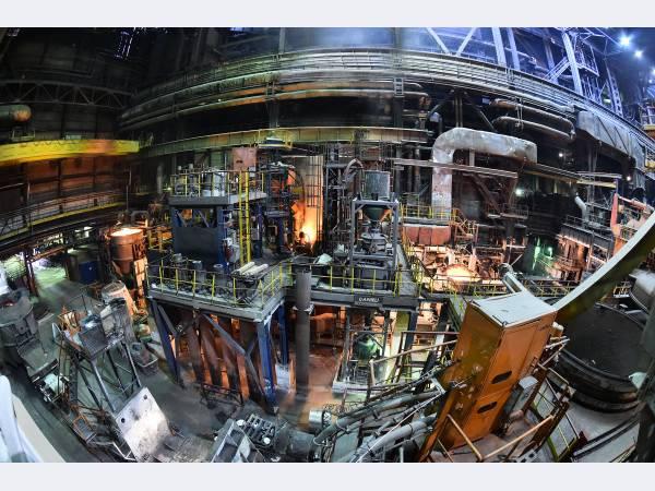 ЧМК обновил систему газоочистки в сталеплавильном цехе